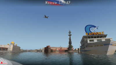 Landmarks Moscow City - X-Plane 11 screenshot