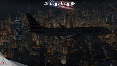 Landmarks Chicago City - X-Plane 11 screenshot