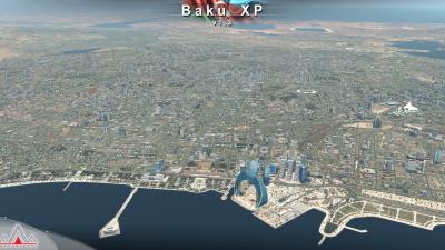 UBBB Heydar Aliyev International Airport - X-Plane 11 screenshot