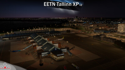 EETN Tallinn Airport - X-Plane 11 screenshot
