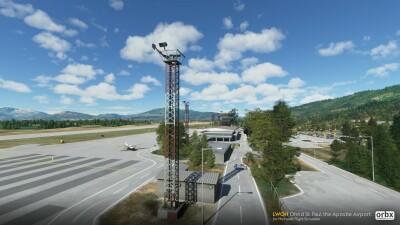 LWOH Ohrid St Paul the Apostle Airport - Microsoft Flight Simulator screenshot