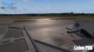LPPT Lisbon Humberto Delgado Airport screenshot