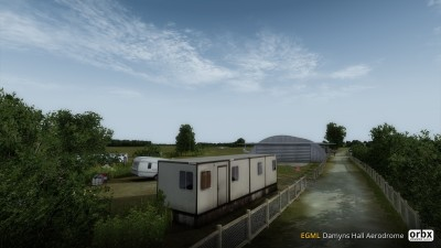 EGML Damyns Hall Aerodrome screenshot