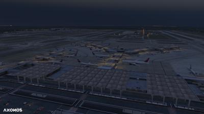 KMEM Memphis International Airport - X-Plane 11 screenshot
