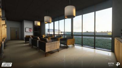 EGTK London Oxford Airport - Microsoft Flight Simulator screenshot