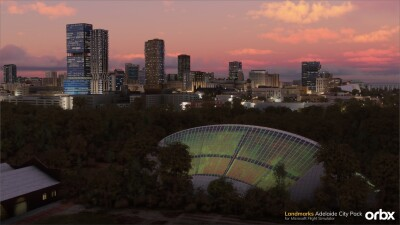 Landmarks Adelaide City Pack - Microsoft Flight Simulator screenshot