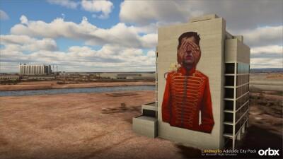 Landmarks Adelaide City Pack - Microsoft Flight Simulator screenshot
