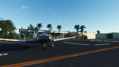YRED Redcliffe Aerodrome - Microsoft Flight Simulator screenshot