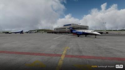EGPB Sumburgh Airport screenshot