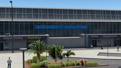 GCTS Tenerife South Airport - X-Plane 11 screenshot