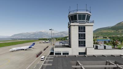 LYTV Tivat Airport screenshot