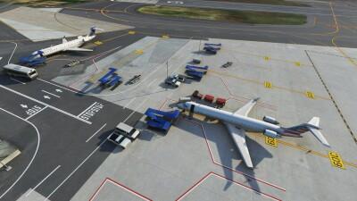 KDCA Ronald Reagan Washington National Airport - Microsoft Flight Simulator screenshot