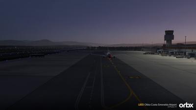 LIEO Olbia Costa Smeralda Airport - X-Plane 11 screenshot