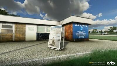EGTR Elstree Aerodrome - Microsoft Flight Simulator screenshot