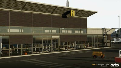 ENTO Sandefjord Airport screenshot