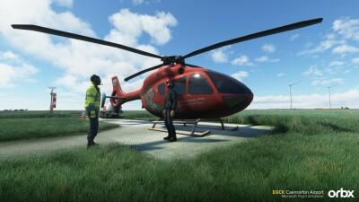 EGCK Caernarfon Airport - Microsoft Flight Simulator screenshot