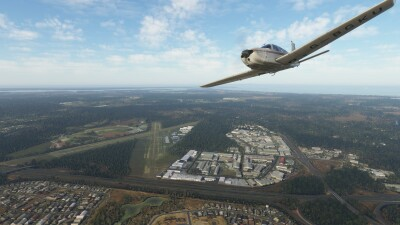 YCAB Caboolture Airfield - Microsoft Flight Simulator screenshot