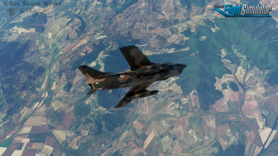 G91 Fiat Aeritalia - Microsoft Flight Simulator screenshot