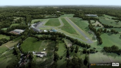 EGTF Fairoaks Airport screenshot