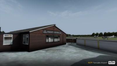 EGTF Fairoaks Airport screenshot
