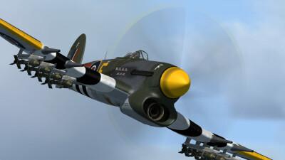 MK1B Hawker Typhoon screenshot