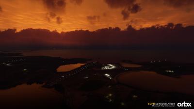 EGPB Sumburgh Airport - Microsoft Flight Simulator screenshot