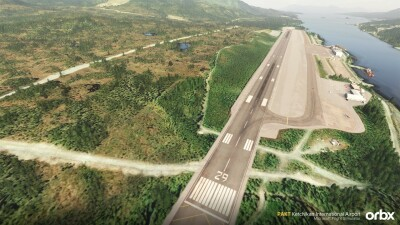 PAKT Ketchikan International Airport - Microsoft Flight Simulator screenshot