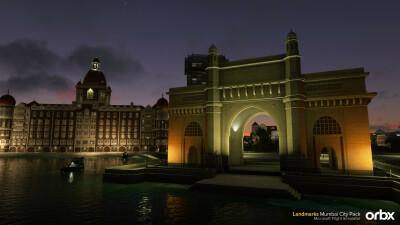 Landmarks Mumbai City Pack - Microsoft Flight Simulator screenshot