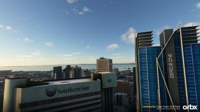 Landmarks Cape Town City Pack - Microsoft Flight Simulator screenshot