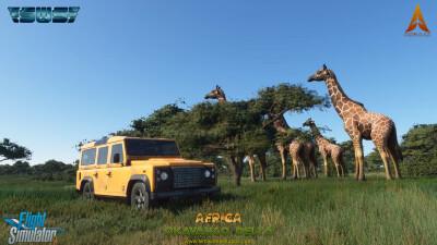 Okavango Delta - Microsoft Flight Simulator screenshot