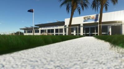 YSHT Shepparton Airport - Microsoft Flight Simulator screenshot