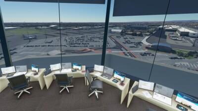YPAD Adelaide Airport - Microsoft Flight Simulator screenshot