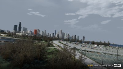 KCGX Merrill C. Meigs Field screenshot