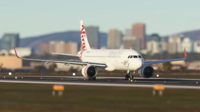 A32NX Liveries Pack (Australia) - Microsoft Flight Simulator screenshot