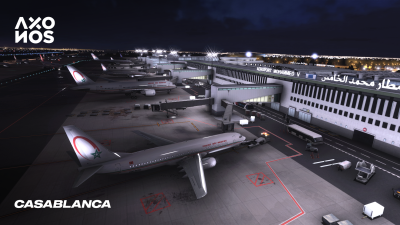 GMMN Casablanca Mohammed V International Airport - X-Plane 11 screenshot