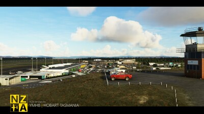 YMHB Hobart Airport - Microsoft Flight Simulator screenshot