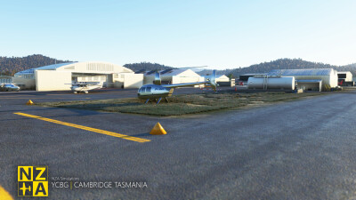 YCBG Cambridge Aerodrome - Microsoft Flight Simulator screenshot