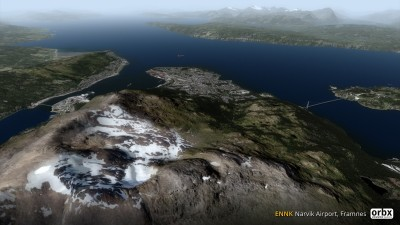 ENNK Narvik Airport, Framnes screenshot