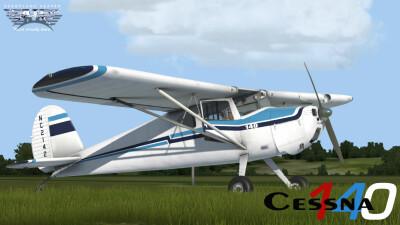 Cessna 140 (PBR) screenshot