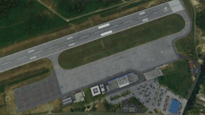 LYTV Tivat Airport - Microsoft Flight Simulator screenshot
