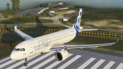 LYTV Tivat Airport - Microsoft Flight Simulator screenshot