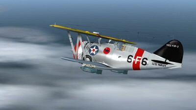 Grumman F3F-2 screenshot