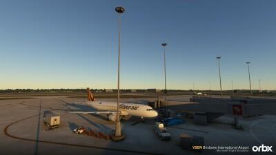 YBBN Brisbane International Airport - Microsoft Flight Simulator screenshot