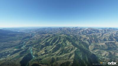 NZ Mesh - Microsoft Flight Simulator screenshot