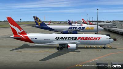 AI Traffic Australia and New Zealand P3Dv5 (PBR) screenshot