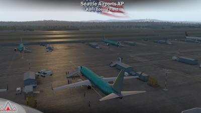 Drzewiecki Design Seattle Airports - X-Plane 11 screenshot
