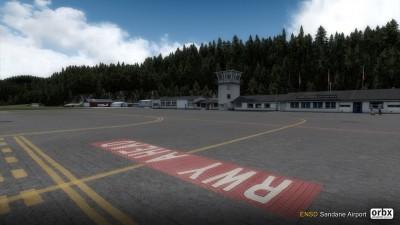 ENSD Sandane Airport screenshot