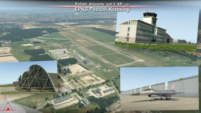 Drzewiecki Design Polish Airports Volume 3 -  X-Plane 11 screenshot