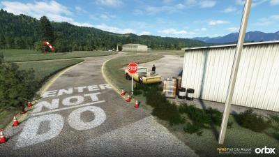 1WA6 Fall City Airport - Microsoft Flight Simulator screenshot