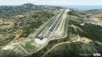 KAVX Catalina Airport - Microsoft Flight Simulator screenshot